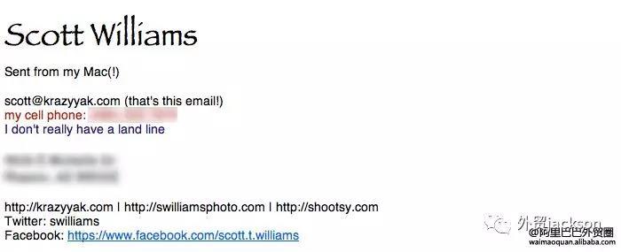 外贸人必备:邮件签名档的美化方法
